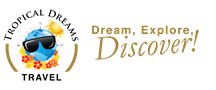 Tropical Dreams Travel Logo